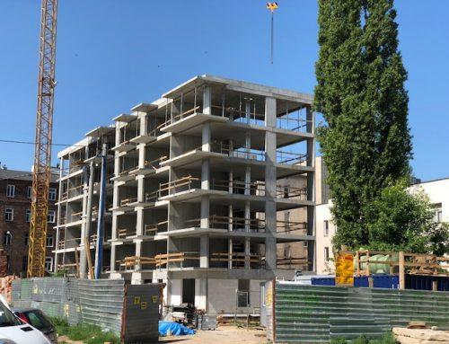 Najnowsze zdjęcia z budowy PATIO PRAGA